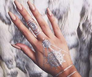 nails, tattoo, and henna image