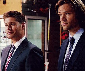 supernatural, dean and sam, and perfect image