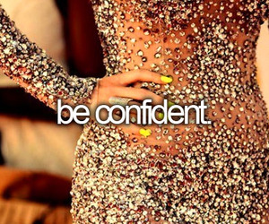 confident and dress image