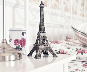 eiffel tower, girly, and paris image