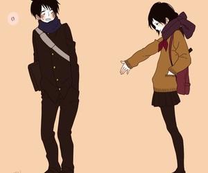 anime, ️anime love, and boy and girl image
