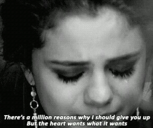 selena gomez, heart, and quote image