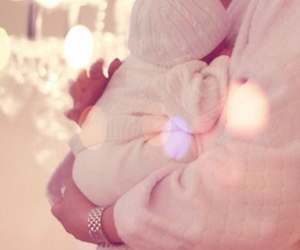 baby, cute, and baby caring image