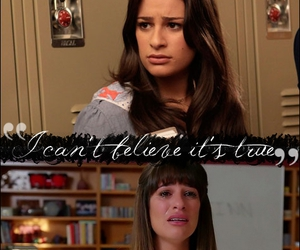 glee, lea michele, and mounting image
