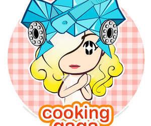 Lady gaga, cooking mama, and gaga image