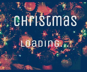 christmas and loading image