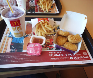 cola, nuggets, and fries image