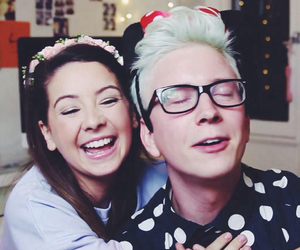 zoella, tyler oakley, and youtubers image