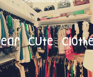 clothes, bucketlist, and cute image