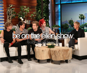 ellen, bucketlist, and ellen show image