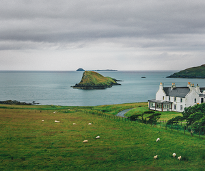 landscape, scotland, and house image