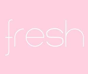 fresh, pink, and quote image