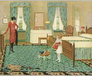 1920s, carpet, and home image