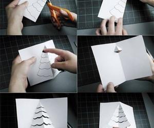 kağıt katlama tekniği, origami tekniği, and tebrik kartı hazırlama image
