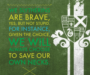 brave, choice, and harry potter image