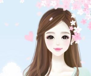 girl, anime girl, and kawaii image