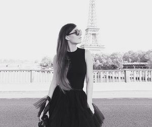 black, black and white, and blogger image
