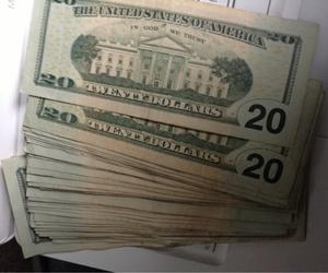 money, dollar, and life image