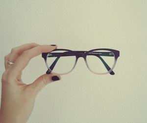 fashion, glasses, and grey image