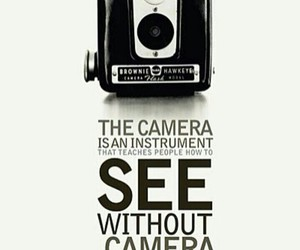 camera and quote image