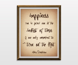 albus dumbledore, harry potter, and inspirational image
