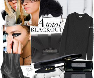 black, chanel, and knit image