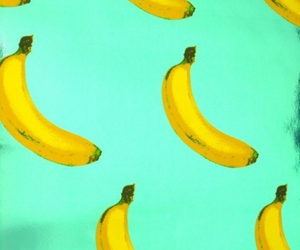 banana, background, and wallpaper image