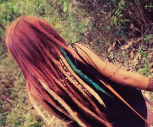 dread, girl, and hippie image