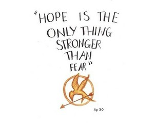 hope, fear, and hunger games image