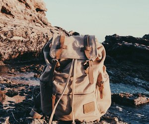 backpack, morning, and travel image