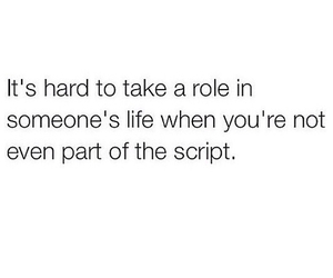 life, role, and script image