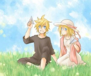 rin and len image