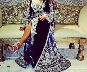 arabic, girl, and wedding image