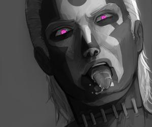 akatsuki, corpse, and dark art image