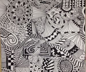 black and white, cool, and creative image