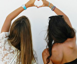 love, always, and friend image