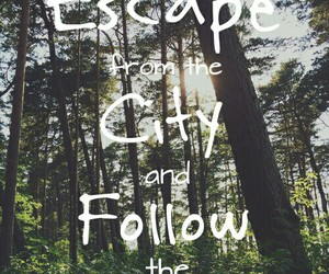 escape, run, and quotes image
