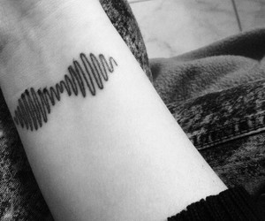 tattoo, music, and arctic monkeys image