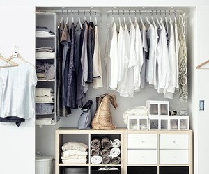 closet and white image