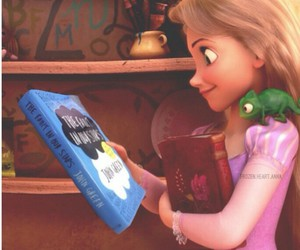 book, rapunzel, and disney image