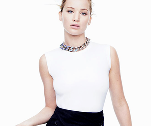 beauty, fashion, and Jennifer Lawrence image