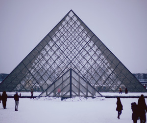 paris, winter, and france image