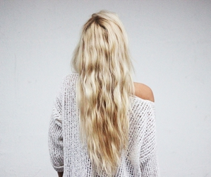 hair, blonde, and blond image