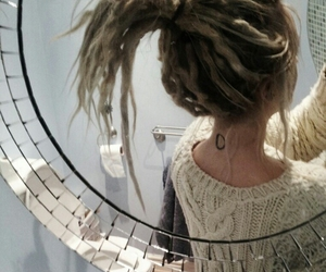 dreads and mirror image