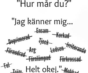 depressed, hurt, and svenska image