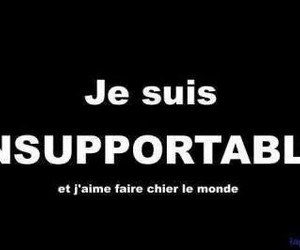 french and insupportable image