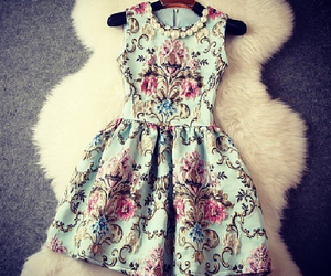 dress, fashion, and beautiful image