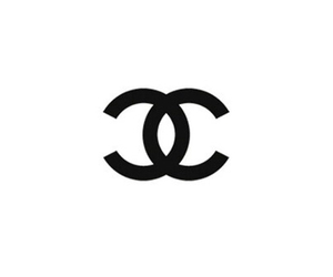 chanel, black, and overlay image