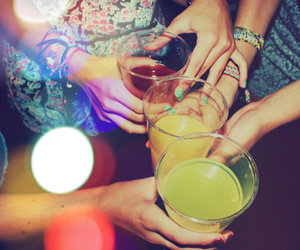 girl, party, and alcohol image