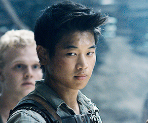 glade, the maze runner, and Minho image